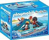 PLAYMOBIL Family Fun 9424 Tretboot, Ab 4 Jahren