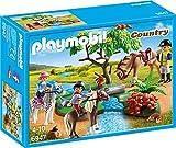 PLAYMOBIL Country 6947 Fröhlicher Ausritt mit Figuren, Pferden und viel Zubehör, ab 4 Jahren