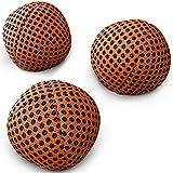 speevers XBalls Jonglierbälle professionelles 3er Set - Wurfbälle zum Jonglieren in 6 Uni Farben - Jonglierset für Kinder, Erwachsene, Anfänger, Profis - Beanbags mit Tragetasche (Orange, 120g)