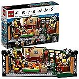 LEGO 21319 Ideas FRIENDS 'Central Perk' Café für Erwachsene und Fans der Kultserie, Konstruktionsspielzeug mit 7 Minifiguren, Set zum 25. Jubiläum