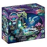 PLAYMOBIL Adventures of Ayuma 70800 Magische Energiequelle, Zum Bespielen mit Wasser, Mit Licht- und Nebelfunktion, Ab 7 Jahren