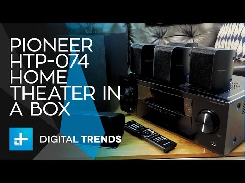 Pioneer HTP-074 Home Theater In A Box - Hands On Review